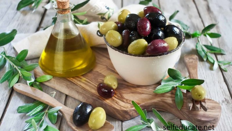Olive benefits for men