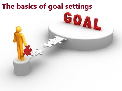 The basics of goal settings
