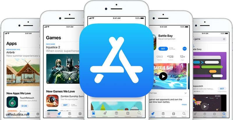 How to create an account in the app store