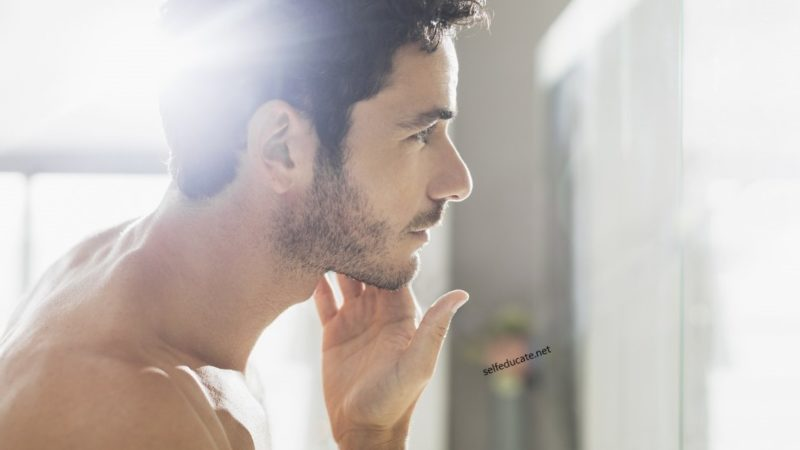 Increase the growth of chin hair without the need for a laser